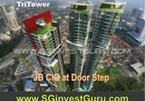 The Nearest new Freehold Condo to JB Custom, TriTower, most convenient residence at ISKANDAR flagship A for foreigners. Near to future RTS station that connecting to u/p Thomson line to Singapore. Fr ONLY S$3xxK. ☎ HOTLINE +65 90624481