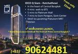 Own a rare FREEHOLD Luxury Condo – IDEO Q Siam – at diamond location – Ratchathewi Bangkok, 390 m from BTS / MRT station, surrounded by amenities, next to shopping paradise, from only $2xxK ,  RSVP : +65 90624481