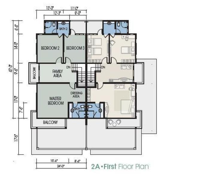 1st Floor - 2A