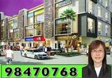 Attractive Sales Package!! Nusajaya Square 2 - Freehold 3 & 4 storey shop office @ SiLC* near Educity, Medini* 80套依斯干达3/4层楼店屋*隔邻新马巴士总站*适宜餐馆/零售/办公楼* Phase 2 open for registration ☎Call 98470768!