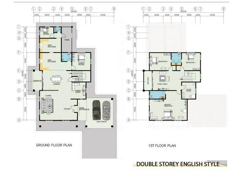Double Storey English Style