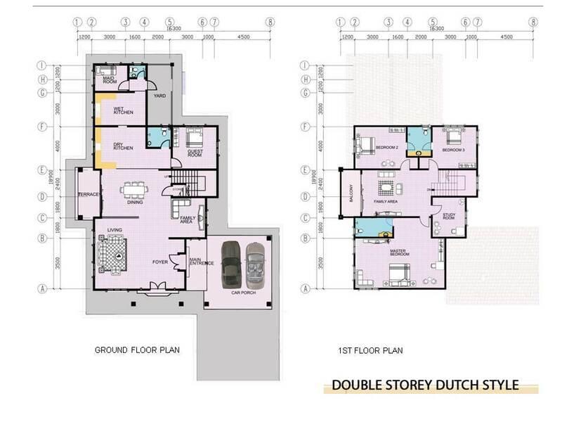 Double Storey Dutch Style