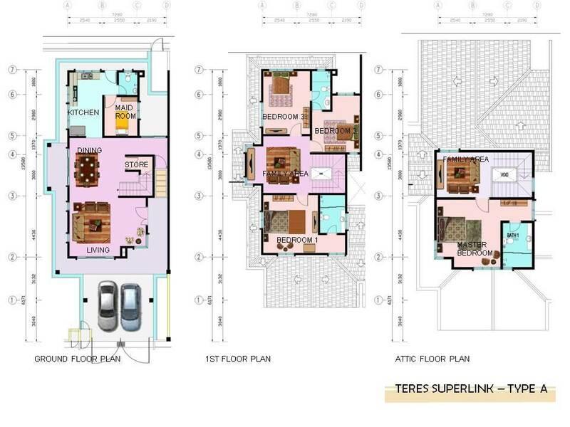 Superlink Terrace - Type A