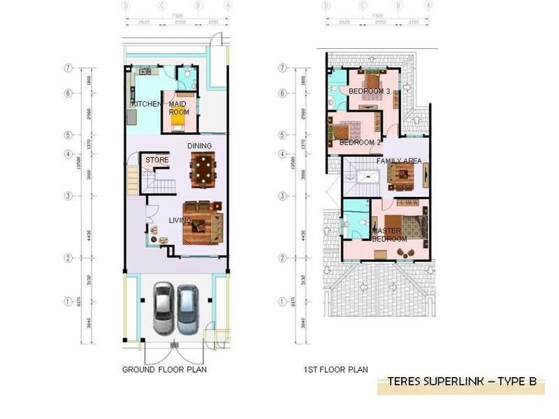 Superlink Terrace - Type B