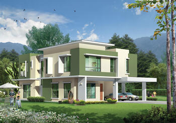 Taman Kledang Permai - Double Storey Bungalow - New Home for Sale
