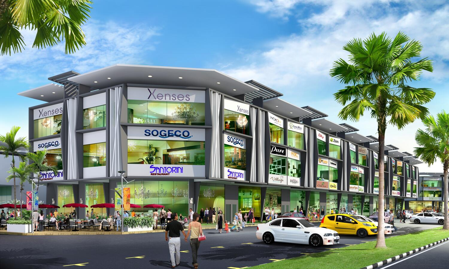 Commercial  Investment: Klebang Centre Point- 2 & 3 storey Shoplot