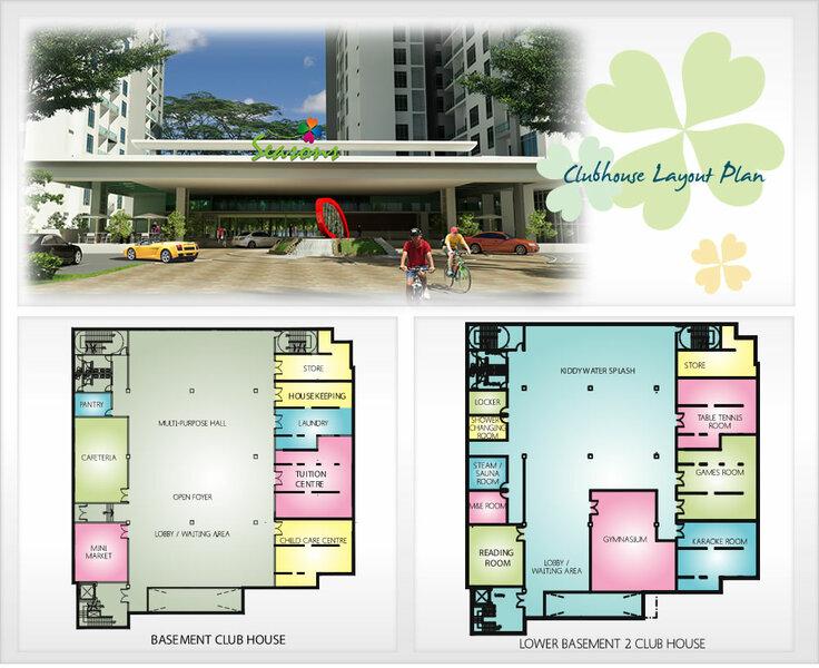 Club House Layour Plan