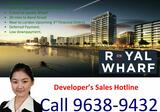 Royal Wharf Phase 2 Launching in Singapore. New Preimium River Thames Units Released. 1/2/3/Townhouses Available. Deferred Payment. 999 Years. Tremendous Upside Potential. Call Hotline : +65 96389432 for more info.